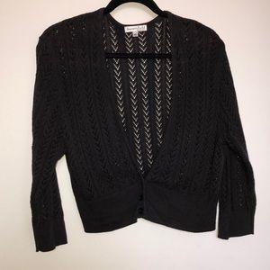summerfield street knit bolero shrug
